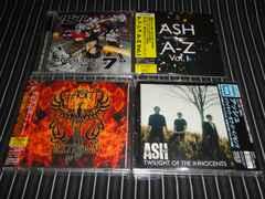 ASH 国内盤AL.4枚セット 初回盤/廃盤良好(アッシュ,CHARLOTTE HATHERLEY