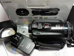 ●安心保証●良品中古●iVIS HF G10 ブラック●