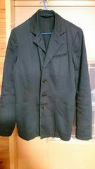 ズッカ 綿 黒 ジャケット 古着 着丈長め Mサイズ