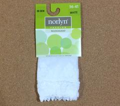 新品♪即決 norlyn 23.5〜26cm 20デニールソックス02