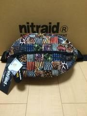 nitraid WAIST BAG(LARGE)(CRAZY SAVANNA)(11S/S)