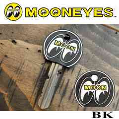 【送料無料】ムーンアイズ キーキャップ MOONEYES/BK