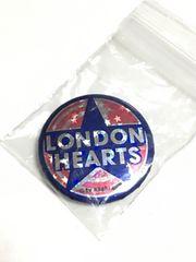 ロンドンブーツ1号2号ロンドンハーツLONDONHEARTSロンハー缶バッジ