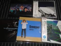 佐野元春『SOMEDAY[COLELCTOR'S EDITION]』などアルバム5枚SET