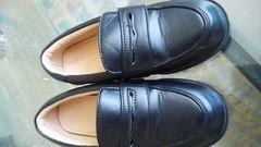 フォーマル靴 黒 17センチ