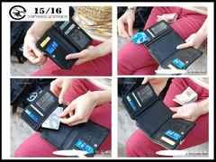 新品 フィフティンシクスティン1516 箱付き 皮 スナップ式財布-6