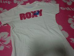 ROXY Tシャツ 白 ロゴ入り ロキシー