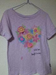 カジュアル*カラフル。お花。Tシャツ