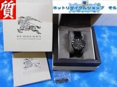 質屋★本物 バーバリー 腕時計 クロノ BU1373 メンズ 美品