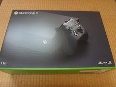 XBOX ONE X:新品未使用品
