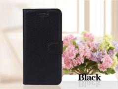 iPhone 7/8手帳型レザーケース+フィルム収納1携帯ケース 黒色