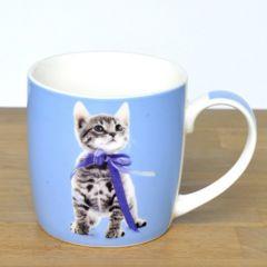 ◆【キャットマグ 4種】ネコ雑貨(ブルーネコ)贈り物