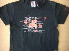 MICHIKO LONDON Kids ☆Tシャツ(*^.^*)ブラック 90