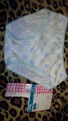 キッズ 女の子 綿おパンティパンティー120センチ白系
