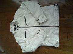 即決シングルライダースジャケット ホワイト 新品
