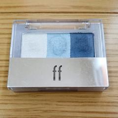 資生堂 ffフフ アイズグラデーション アイカラー アイシャドウ BL203 ブルー 青