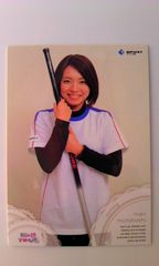 BBM2010・リアルヴィーナスカードカーリング女子・本橋麻里