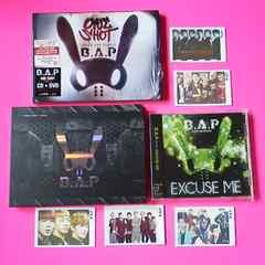 B.A.P8点ONE SHOT [CD+DVD]<初回限定盤>&フオトカード5枚等 ヨンジェ