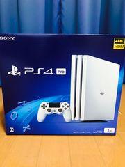 PlayStation4 Pro GlacierWhite 1TB 新品未開封 保証付き