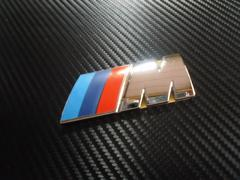 ●BMW Mテク R用 ラウンドエンブレムL ABS製 社外B級品 特価処分