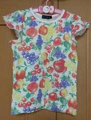 ムージョン購入☆ANIMALKIDのフルーツ柄のTシャツ☆size100