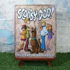 新品【ブリキ看板】Scooby Doo/スクービー・ドゥー