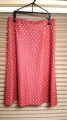 INDIVI☆赤ドット♪かわいいスカート