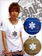 BONDS&PEACE BAP SAVED Tシャツ/ホワイトM 引カジ系