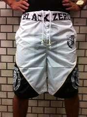 1000円スタ)BLACKZEROナイロン・ハーフパンツ(Rebel
