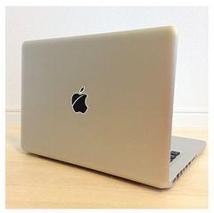 マックブック ステッカー Appleマーク キズりんご