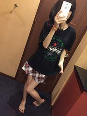 メンズ☆お部屋着Tシャツ・愛用品Lサイズ・黒