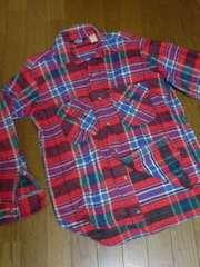 ウールリッチネルシャツ米国製タグWOOLRICH