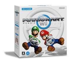 即決★中古 Wii マリオカートWii ハンドル付き 送料無料
