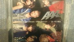 激安!超レア!☆AAA/Dream After Dream☆初回盤/CD+DVD帯付/美品!