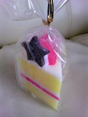 新品未使用品!ショートケーキ型キャンドル