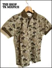 THE SHOP TK MIXPICE タケオキクチ 半袖ポロシャツ L