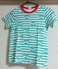 ムージョンジョン☆新品同様☆ぞうさんTシャツ☆size120☆日本製