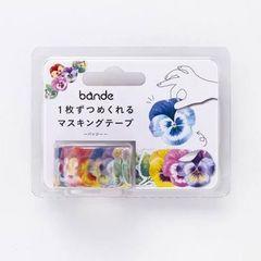 【新品】マスキングテープ*綺麗!パンジー