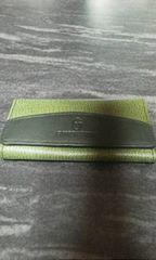 ジャンニバレンチノグリーン革製4連 キーケース
