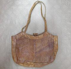 水牛革製ショルダーバッグ*1 ネパール製ハンドメイド