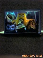 USJで買ったテレホンカードです