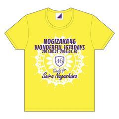 即決 乃木坂46 Tシャツ アンダーライブ全国ツアー 永島 聖羅 L