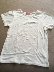 ジェニィ((袖ロゴ/シンプルTシャツ((150、数回着用