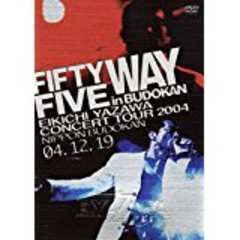 DVD新品○DM便164円 矢沢永吉 FIFTY FIVE WAY in BUDOKAN 2枚組
