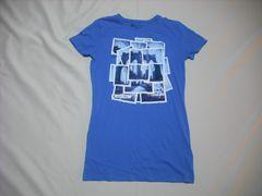 mq511 女 ZOO YORK ズーヨーク 青 Tシャツ Mサイズ