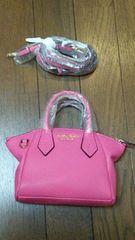サマンサタバサプチチョイス☆ミニショルダーバッグ☆フューシャピンク新品