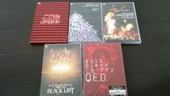 AcidblackCherry yasu JoKER Dearly BLACKLIST等DVD詰め合わせ