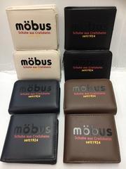 送・無『mobus』2つ折財布(かぶせタイプ)1個\3132が