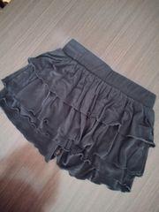 マウジー moussy ミニスカート風 キュロット ブラック