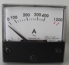 アナログAC電流メーター1200A2個セット未使用在庫処分!!No2